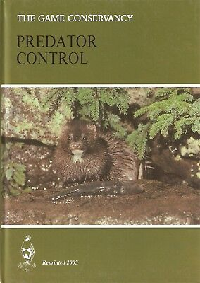 GAME CONSERVANCY GAMEKEEPING BOOK PREDATOR CONTROL hardback BARGAIN new