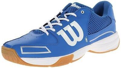 Wilson Storm Men's Indoor Court Shoes - Blue -Badminton, Squash, Volleyball, RB