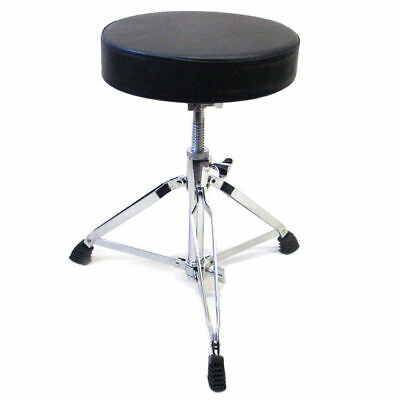 Drum Stool Seat Throne Worm Drive Heavy Duty Thick Padded Top DP Percussion DP1A