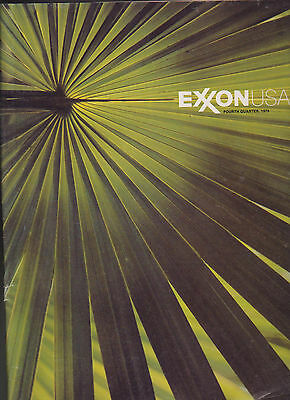 Exxon USA Oil Magazine Fourth Quarter 1976