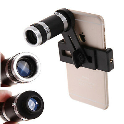 8x Zoom Telephoto Optical Camera Lens Telescope For Iphone 6 Samsung Cell Phone