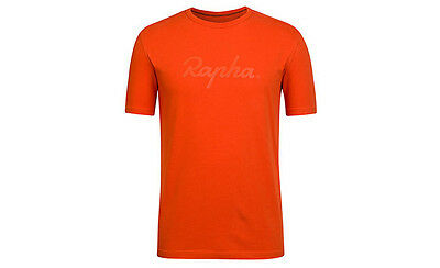 Rapha Orange Logo T-Shirt. Size X Large. BNWT.