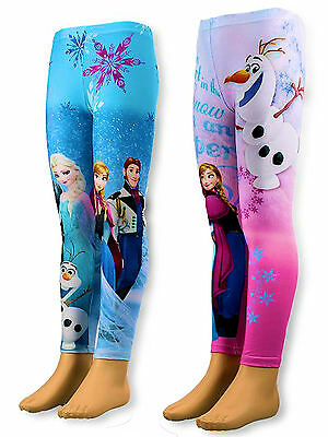 LEGGING-pantalon-collant-FROZEN-REINE-DE