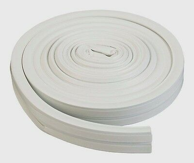 "43846 WEATHERSTRIP ALL CLIMATE SILICONE RUBBER THERMALBLEND   3/8"" x 17' WHITE"