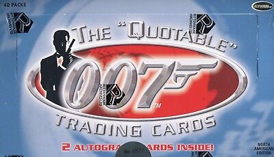 James Bond The Quotable James Bond Card Box