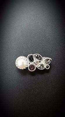 LeStage Convertible Bracelet Clasp - Aurora w/ Genuine Pearl & Crystal (SB5889)