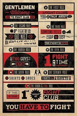 New The First Rule of Fight Club.... Fight Club Poster