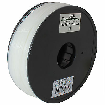 1.75mm (1kg) Nylon Natural Filament for 3D Printers