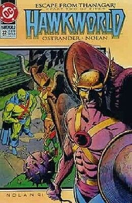 Hawkworld #22 (Apr 1992, DC)
