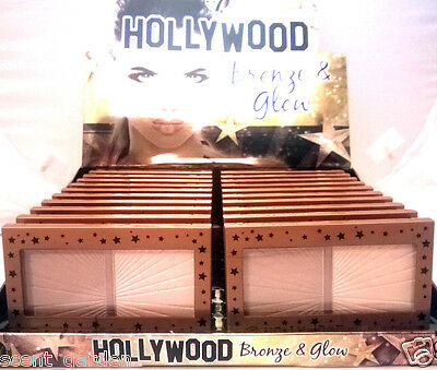 W7 Hollywood Bronze & Glow Duo Highlighter & Bronzer  ❤ Buy 5 & Get 1 Free! ❤