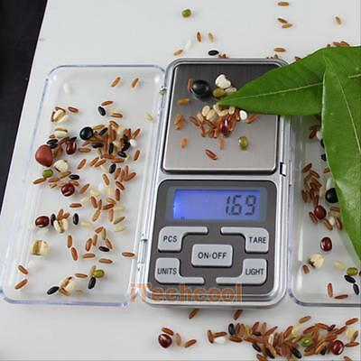 200g 0.01 Mini Digital Pocket Scales Jewelry Precision Electronic Weight Lab LCD