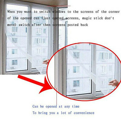 New Home Insect Fly Bug Mosquito Window Net Mesh Screen Curtain Protector Screen
