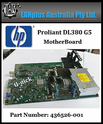 HP Proliant DL380 G5 Server Motherboard 436526-001 Mainboard with CPU Cases work