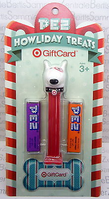PEZ - TARGET DOG - USA 2013 - limited, Mint on Card + Gift Card !!
