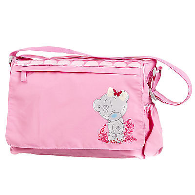 New Obaby Me To You Tiny Tatty Teddy Pink Baby Changing Bag Pushchair Nappy Bag