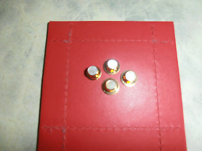 Mens Mother of Pearl Dress Shirt Studs Set of Four