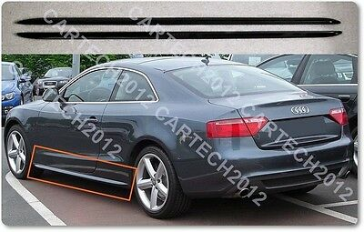 Audi A5 S5Line Side Skirts  Convertible, Sportback, Coupe, tuning