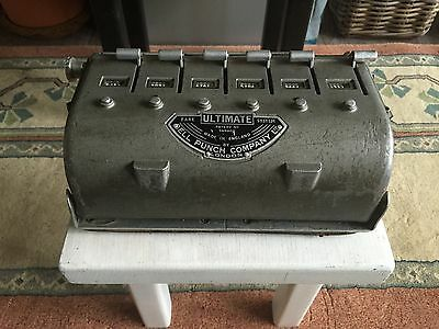 Vintage Ultimate Fare System Bus Ticketmachine by Bell Punch