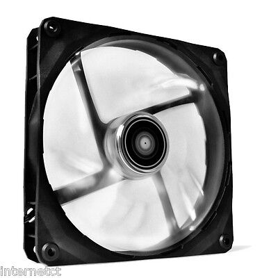 Nzxt Fz-140 Airflow White Led Fan 140Mm Long Life Bearing Computer Case Cooler