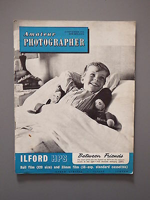R&L Vintage Mag: Amateur Photographer 23 November 1955 Lighting Glamour/Russia