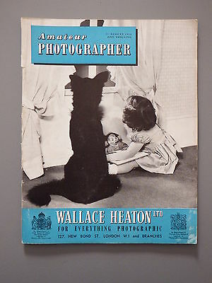 R&L Vintage Mag: Amateur Photographer 25 August 1954 The Beach/Holidays/Printing