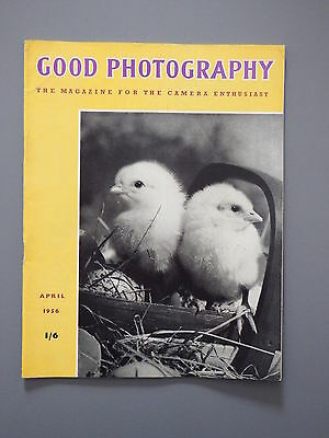 R&L Vintage Mag: Good Photography April 1956 Youth/Portraits/Contrast