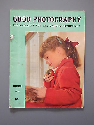 R&L Vintage Mag: Good Photography December 1956 Circus/Children/Autumn
