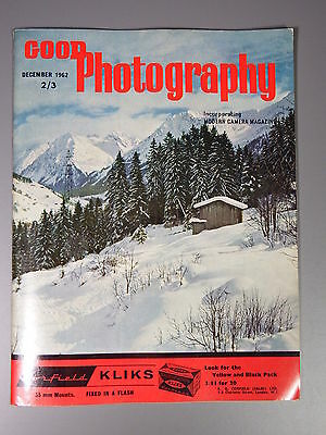 R&L Vintage Mag: Good Photography December 1962 Christmas Celebrities/Winter