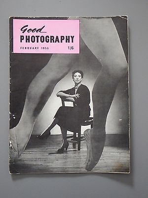 R&L Vintage Mag: Good Photography February 1955 FlashEasy/Winter Sea/Landscape