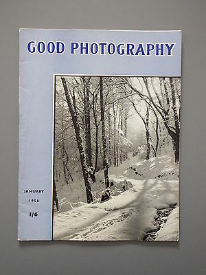 R&L Vintage Mag: Good Photography January 1956 Lens Aberrations/Snow/Switzerland