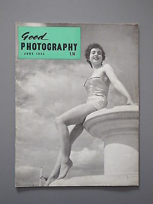 R&L Vintage Mag: Good Photography June 1955 Close-Up/Fishing/Copying