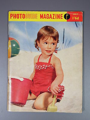 R&L Vintage Mag: Photo Guide Magazine July 1957 Motor Racing/Fairgrounds/Pin-Up