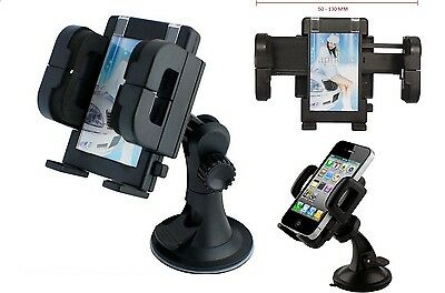 Universal In Car 360° Windscreen Mount Holder Cradle For large Mobile Phone GPS