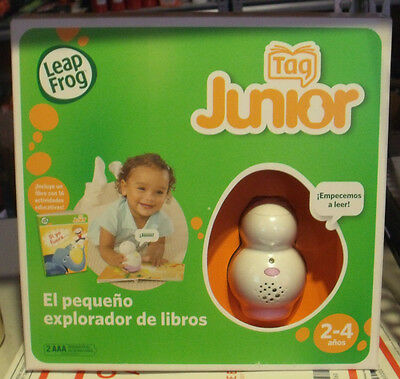 Leap Frog Tag Junior Reading Learning System with Book  2-4 ( spanish version)