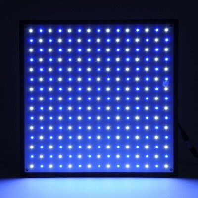 225 UFO SMD LED Hydroponic Plant Grow Light Panel Blue White Indoor Flower Lamp