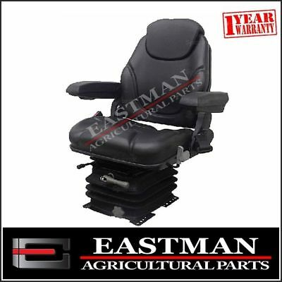 Mechanical Suspension Seat with Armrests- Tractor - Excavator
