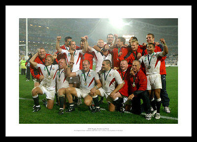 England Rugby Team 2003 Rugby World Cup Final Photo Memorabilia (612)