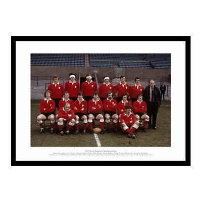 Wales Rugby Team 1971 Five Nations Grand Slam Photo Memorabilia (054)