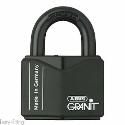 ABUS GRANIT 37RK55 High Security Shipping Container Padlock-X Plus -Free Post.