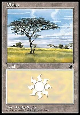 ▼▲▼4x Plaine Plains LORWYN #283 FRENCH  Magic