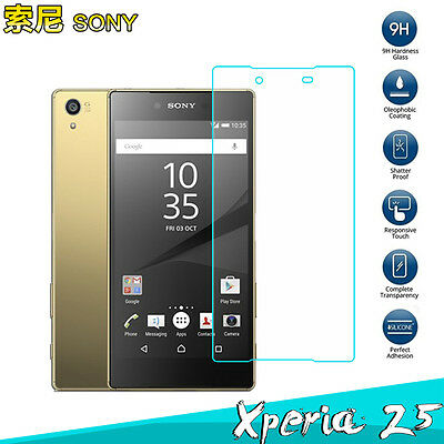 For Sony Xperia Z3 Z4 Z5 / M4 Aqua M5 100% New Tempered Glass Screen Protector