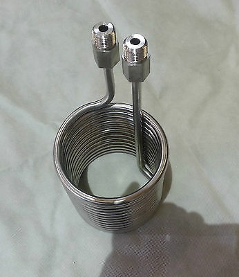 Stainless Coil, hot water or multi-use, 1/2 NPT male ends, 5004500