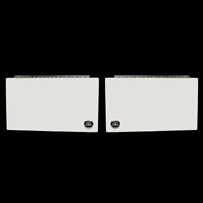 Sea Ray 370 VN Off White Boat Wet Bar  Hatch Door (Set of 2) 2097924 / 2097925