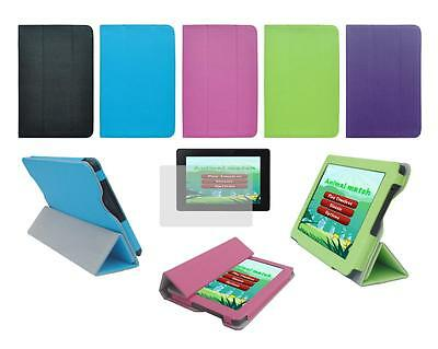 """Folio Smart Cover Case and Screen Protector for Amazon Kindle Fire HD 7"""" 2013"""