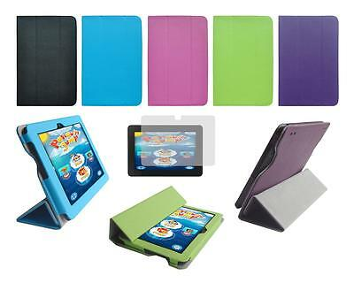 """Folio Smart Cover Case and Screen Protector for Amazon Kindle Fire HDX 7"""" 2013"""