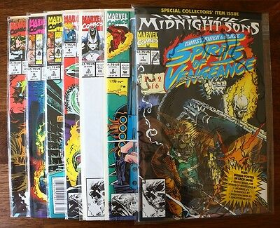 GHOST RIDER BLAZE SPIRITS OF VENGEANCE COMPLETE RUN 1 7 MARVEL COMICS