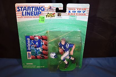 """NFL 1997 Unopened//Sealed Starting Lineup /""""JIM HARBAUGH/"""" Collectors Figure"""
