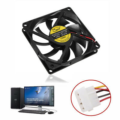 4 Pin 80mm 15mm Cooler Fan Heatsink Cooling Radiator For Computer PC CPU 12V