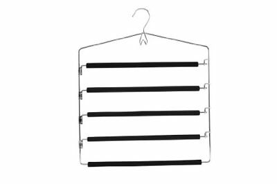 Zeller 17135 Multi-Bar Trouser Hanger Metal 42.5 x 23 cm