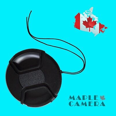 72mm High Quality Snap-On Lens Cap Cover For Canon, Nikon, Sony, Olympus, Pentax